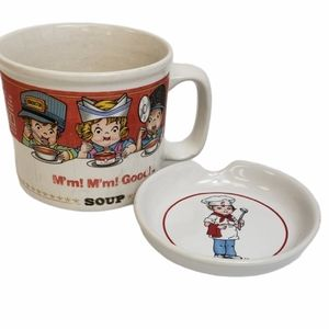 1993 Campbell's Soup Mug and Spoon Rest